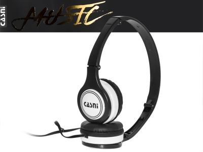 Слушалки с микрофон CASNI - CS-28, Черен