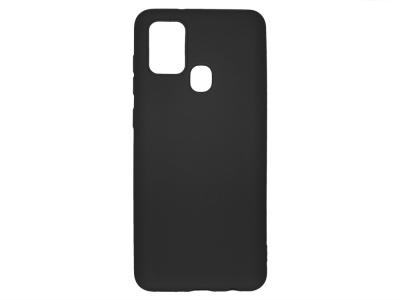 Силиконов гръб Level за Samsung Galaxy A21S, Черен