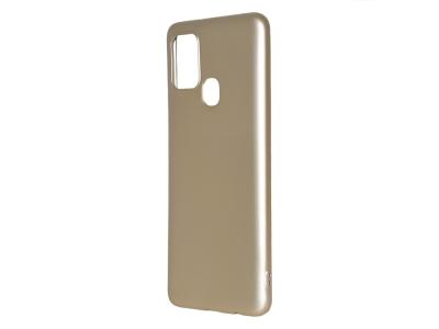 Силиконов гръб Level за Samsung Galaxy A21S, Златист