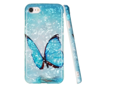 Силиконов гръб за iPhone 7 / 8 / SE 2020, Пеперуда