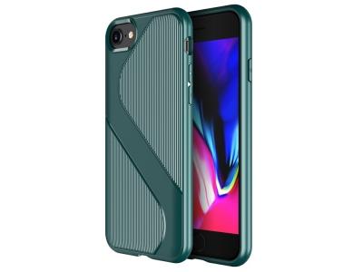 Силиконов Гръб S-shaped Air за iPhone SE 2nd Gen (2020)/8/7, Зелен