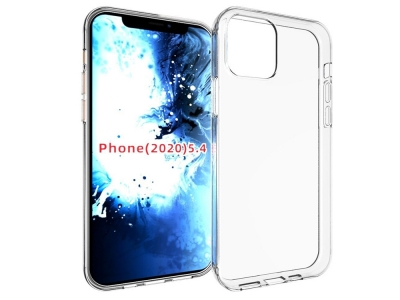 Силиконов Гръб Anti-fingerprint за iPhone 12 (5.4), Прозрачен