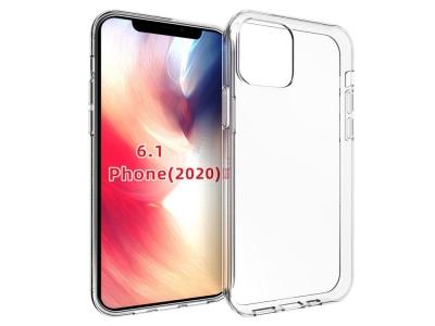 Силиконов Гръб Anti-fingerprint за iPhone 12 Pro (6.1), Прозрачен