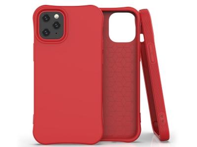 Силиконов гръб Matte за iPhone 12, Червен
