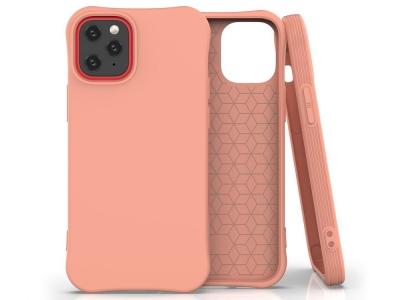 Силиконов гръб Matte за iPhone 12, Оранжев