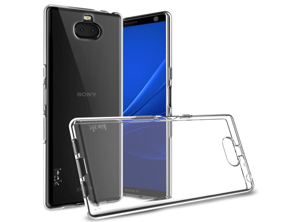 Силиконов Гръб IMAK UX-5 за Sony Xperia 10 Plus, Прозрачен