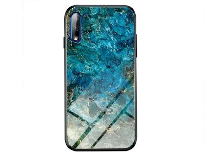 Стъклен гръб Glass за Huawei P Smart Pro (2019), Смарагд