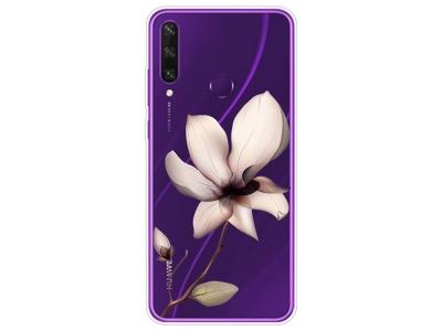 Силиконов Гръб за Huawei Y6p, Красиво цвете