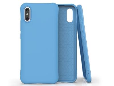 Силиконов Гръб Matte за Xiaomi Redmi 9A, Син