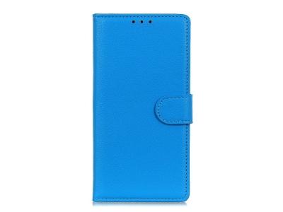 Калъф тефтер Litchi за Xiaomi Redmi 9A, Син