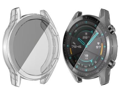 Силиконов Протектор за смарт часовник Huawei Watch GT 2 46mm, Прозрачен