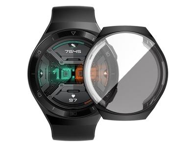 Силиконов Протектор за смарт часовник Huawei Watch GT 2e, Черен