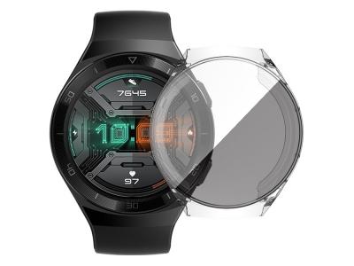 Силиконов Протектор за Huawei Watch GT 2e, Прозрачен