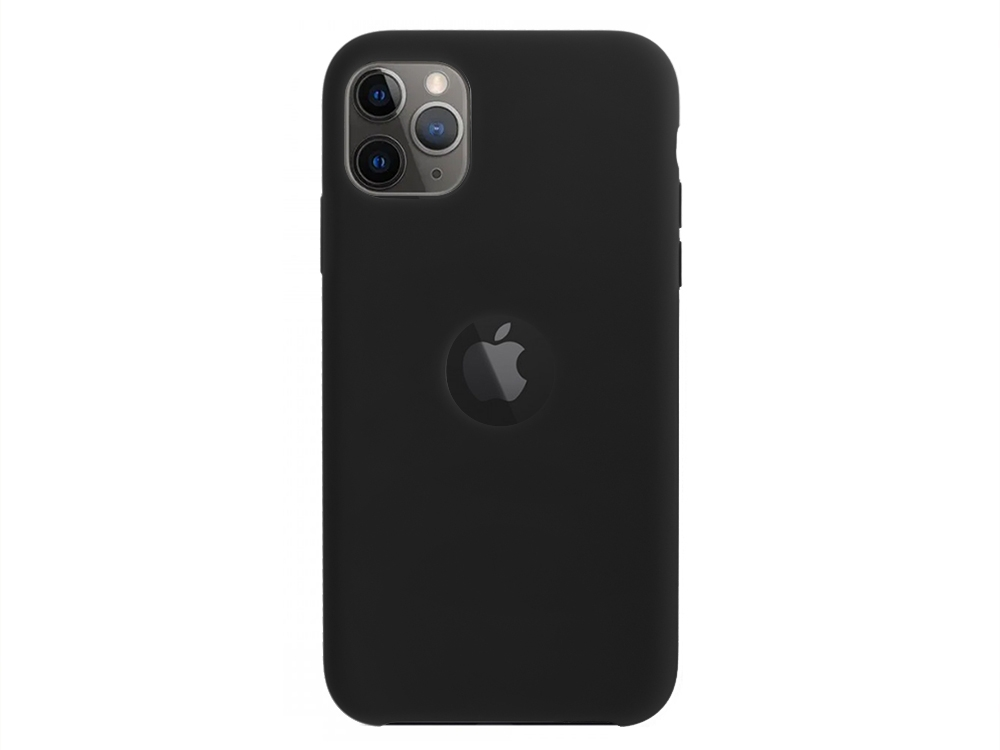 Калъф Гръб LUX за Iphone 11 Pro (with hole), Черен