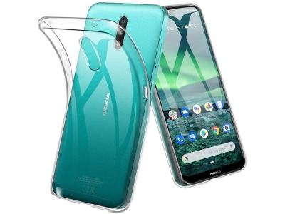 Силиконов калъф 0.5mm за Nokia 2.3, Прозрачен