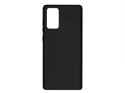 Силиконов Гръб Level за Samsung Galaxy Note 20, Черен