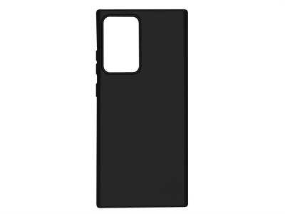 Силиконов гръб Level за Samsung Galaxy Note 20 Ultra, Черен