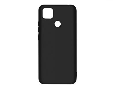 Силиконов гръб Level за Xiaomi Redmi 9C, Черен