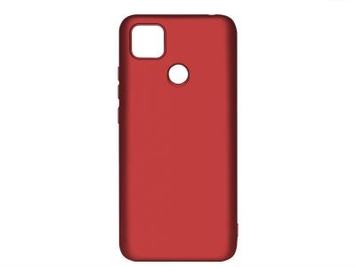 Силиконов гръб Level за Xiaomi Redmi 9C, Червен
