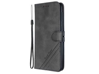 Калъф Тефтер Wallet Stand Leather Flip Shell - Samsung Galaxy M21/M30s - Black