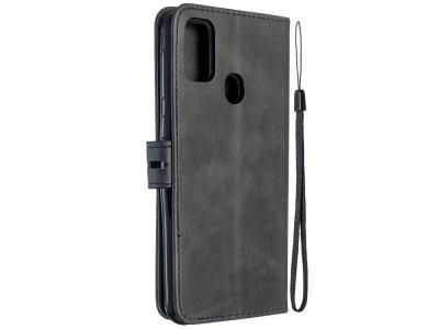 Калъф Тефтер Shell за Samsung Galaxy M21/M30s, Черен