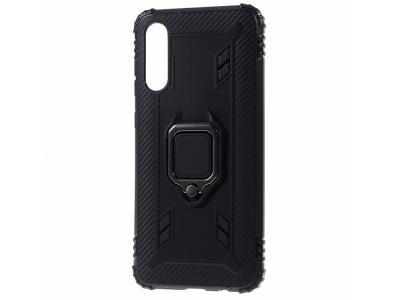 Удароустойчив калъф Kickstand за Samsung Galaxy A70/A70s, Черен