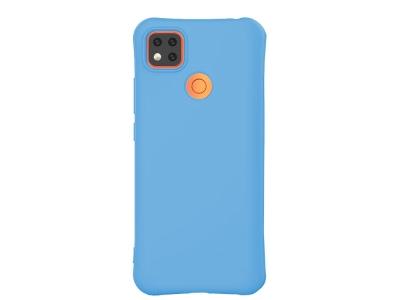 Силиконов калъф Matte за Xiaomi Redmi 9C, Син
