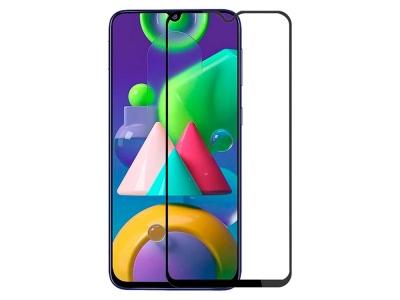 Стъклен Протектор 9D Full за Samsung Galaxy M21/M30s, Черен