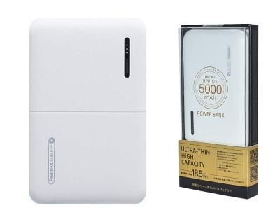 Универсална Външна Батерия Power Bank Remax 5000 mAh Linon 2 RRP-123, Бял