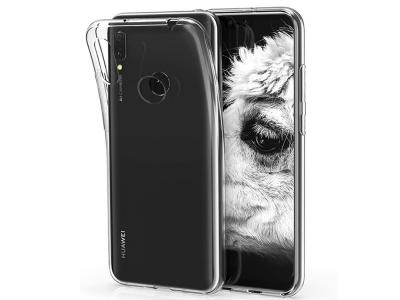 Силикон Ултра Слим 0.5mm - Huawei Y7 (2019) - Transparent Relef