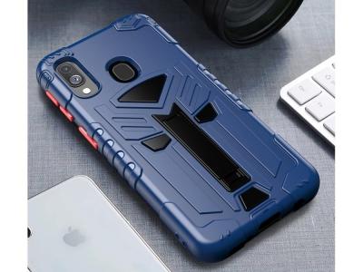Удароустойчив Гръб King Kong за Samsung Galaxy A20e, Син