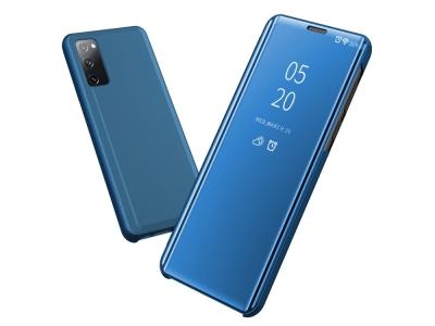 Калъф Тефтер View Window Mirror за Samsung Galaxy S20 FE/S20 Fan Edition/S20 FE 5G/S20 Fan Edition 5G/S20 Lite, Син