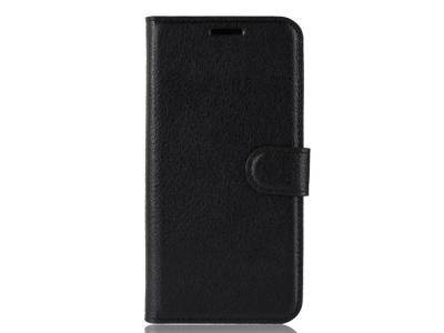 Калъф Тефтер Litchi за Samsung Galaxy S20 FE/S20 Fan Edition/S20 FE 5G/S20 Fan Edition 5G, Черен
