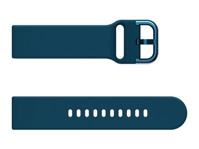 Силиконова каишка 22mm за Huawei Watch GT / Watch GT2 / Watch Active, Тъмно син