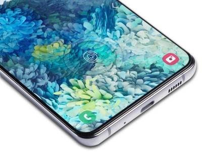 Стъклен протектор Amorus за Samsung Galaxy S20 FE/S20, Черен