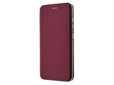 Калъф Тефтер ELEGANCE за Samsung Galaxy A51, Бургундски цвят