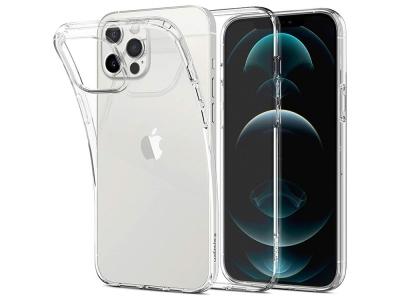 Силиконов гръб за iPhone 12 / 12 Pro, Прозрачен