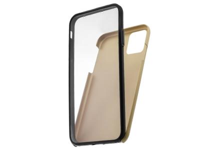 360 Градуса Калъф за iPhone 12 / 12 Pro, Златист