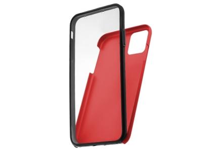 360 Градуса Калъф за iPhone 12 / 12 Pro, Червен