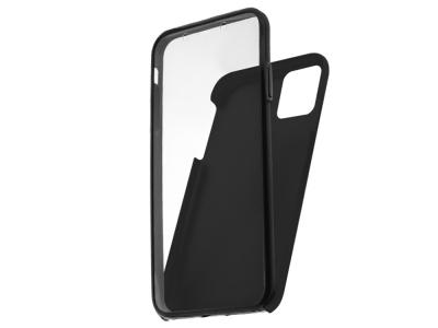 360 Градуса Калъф за iPhone 12 / 12 Pro, Черен