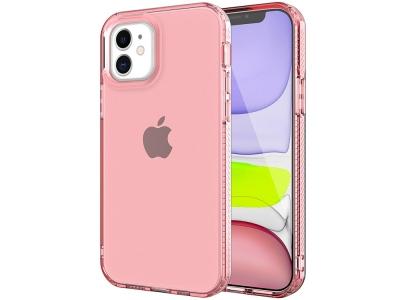 Силиконов Гръб 2.5mm Non-slip Thicken за iPhone 12 Pro/12, Розов