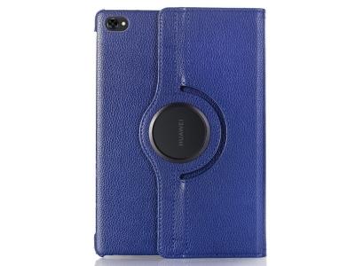 Калъф Тефтер за Huawei MediaPad M5 lite 10/C5 10, Тъмно син