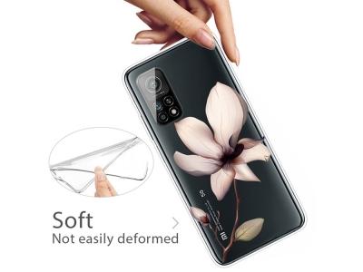 Силиконов калъф за Xiaomi Mi 10T 5G/10T Pro 5G, Цвете