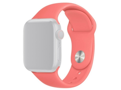 Силиконова каишка за Apple Watch Series 1/2/3 42mm / Series 4/5/6/SE 44mm - Pink