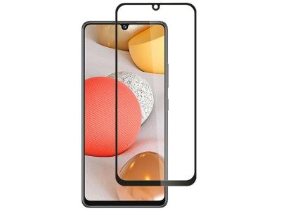 Стъклен Протектор Full Glue 5D за Samsung Galaxy A42, Черен