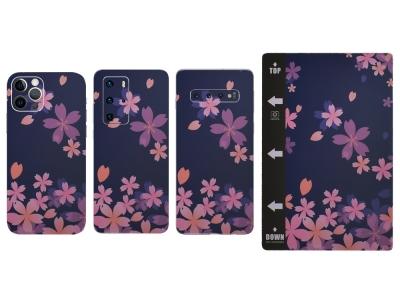Изрязване на Фолио Протектор за телефон (Гръб), Цветя
