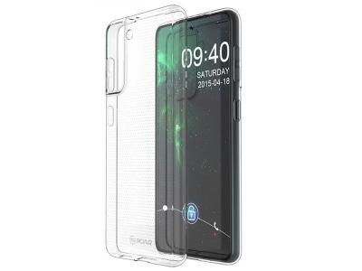 Силиконов калъф Jelly Roar за Samsung Galaxy S21 Plus, Прозрачен