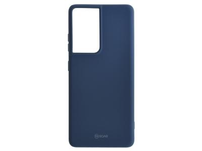 Силиконов калъф Roar Colorful за Samsung Galaxy S21 Ultra, Тъмно син