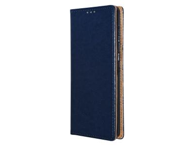 Калъф Тефтер SPECIAL ест. кожа за Samsung Galaxy S21 Plus, Син