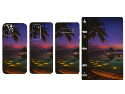 Изрязване на Фолио Протектор за телефон (Гръб), Плаж